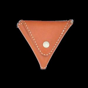 DOZI皮革 三角形零錢包