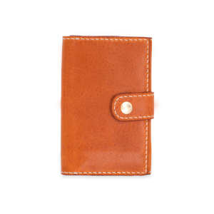 DOZI皮革 中扣式卡片零錢包